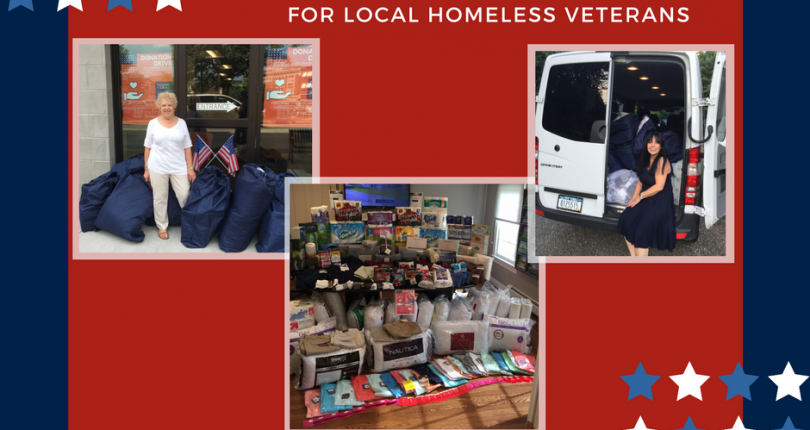 Prominent Properties Sotheby's International Realty completes successful donation drive to benefit Local Homeless Veterans