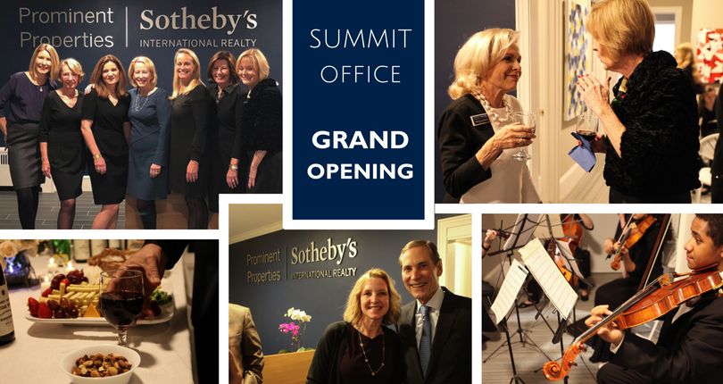 Prominent Properties Sotheby's International Realty celebrates new Summit office location and raises money for art scholarships for local students