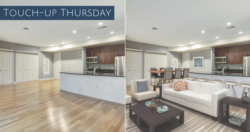 Touch-up Thursday: Virtual Stagings