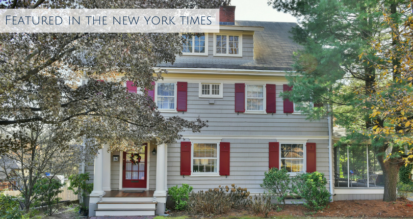 The New York Times features 11 Prospect Avenue in Montclair, NJ