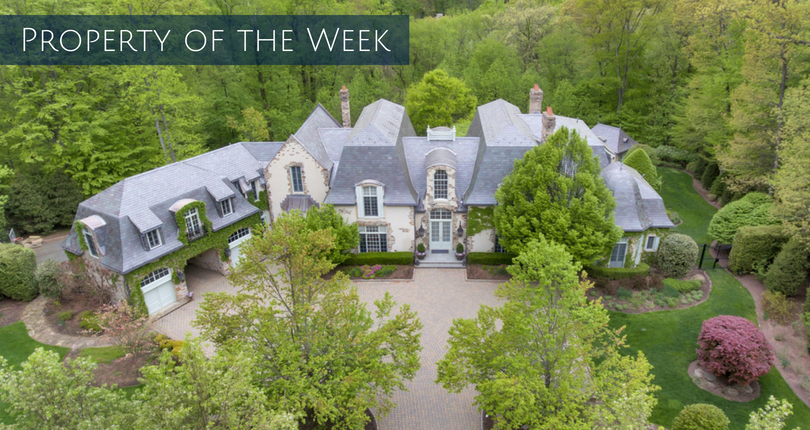 Property of the Week: 59 Fox Hedge Road in Saddle River, NJ