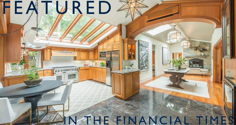 The Financial Times features 125 Lake End Road, Rockaway Township, NJ
