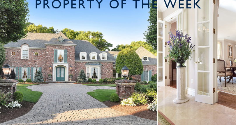 Property of the Week: 103 Greenfield Hill, Franklin Lakes, NJ 07417