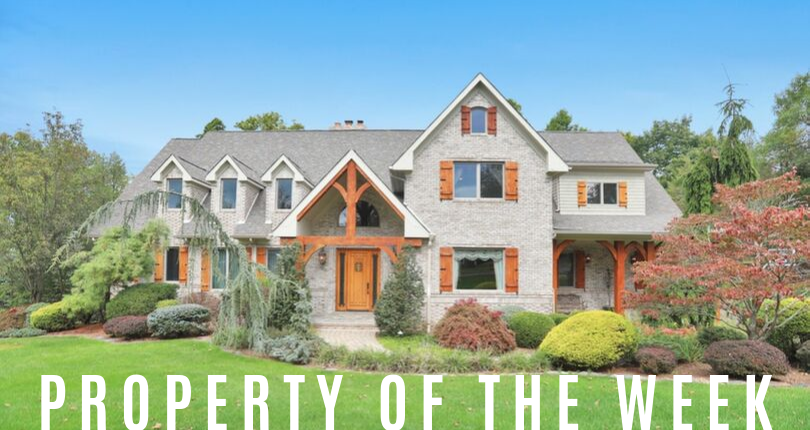 Property of the Week: 100 Garden Court, Franklin Lakes, NJ 07417