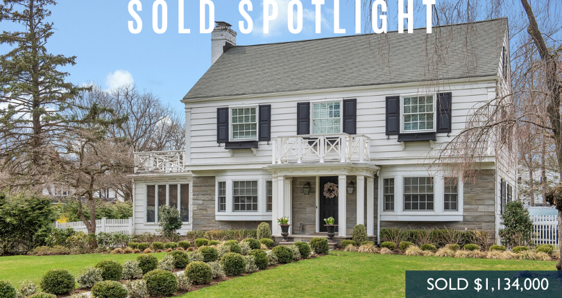 Sold Spotlight: 442 Ridgewood Avenue in Glen Ridge, NJ