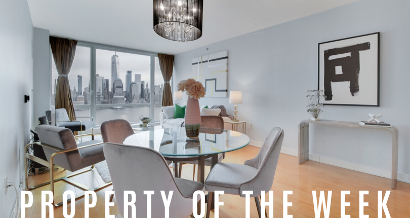 Property of the Week: 2 2nd Street Unit 3404, Jersey City, NJ 07302