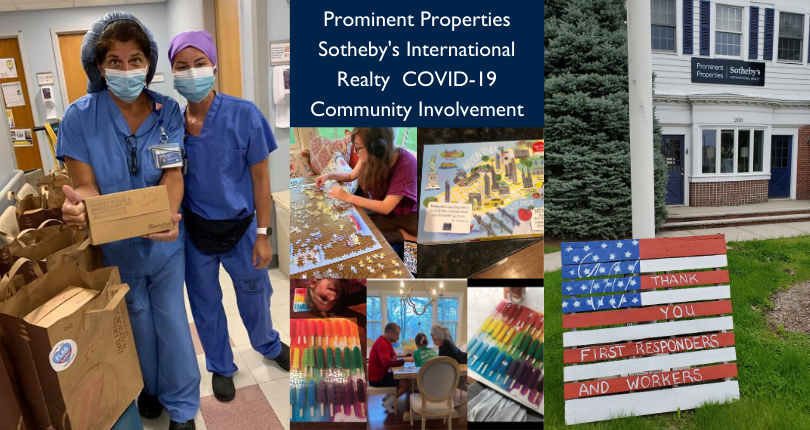 Prominent Properties Sotheby's International Realty COVID-19 Community Involvement: Summit and Westfield