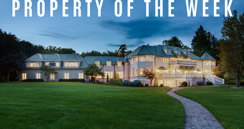 Property of the Week: 116 E Saddle River Road, Saddle River, New Jersey 07458