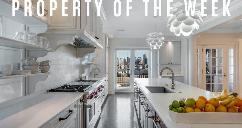 Property of the Week: 807 Boulevard East, Weehawken, New Jersey 07086