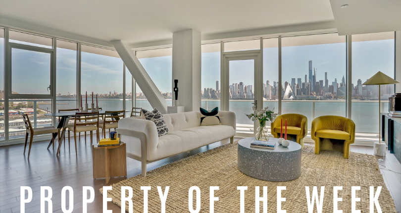 Property of the Week: 800 Avenue at Port Imperial #605, Weehawken, NJ 07086