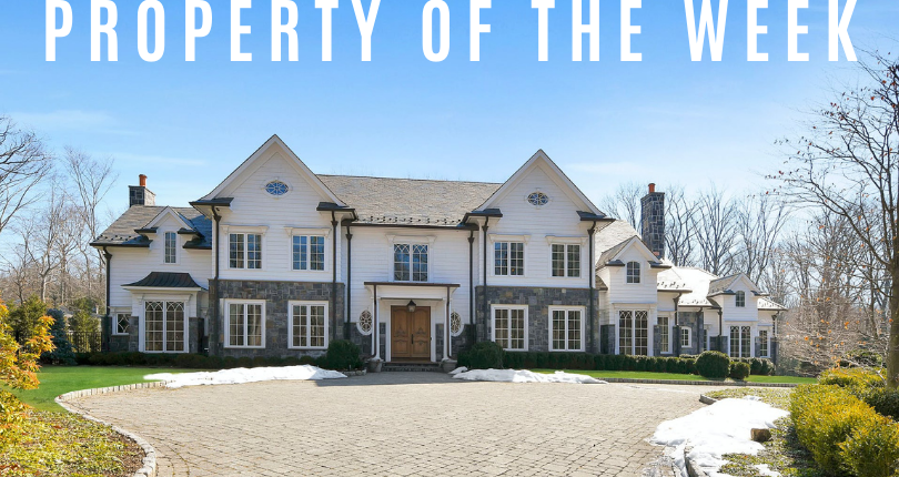 Property of the Week: 19 Werimus Brook Road, Saddle River, NJ 07485